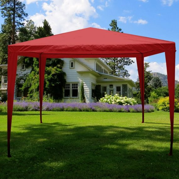 Kirklin 3 x 3m Metal Pop-Up Party Tent