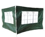 Outsunny 3x2 m Canopy Gazebo Marquee Replacement Side Panel-Green