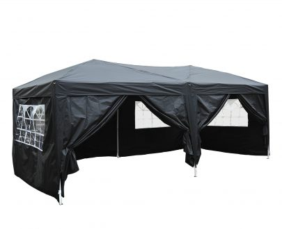 Set of 4 Gazebo Tent Canopy Weight Sand Fillable Strong Plastic Durable