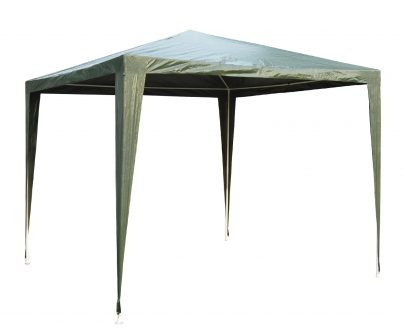 Outsunny Garden Heavy Duty Gazebo Marquee, 2.7x2.7m-Green 01-0191