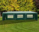 Outsunny 3m x 9m Waterproof Gazebo-Green 840-063GN 5055974824034