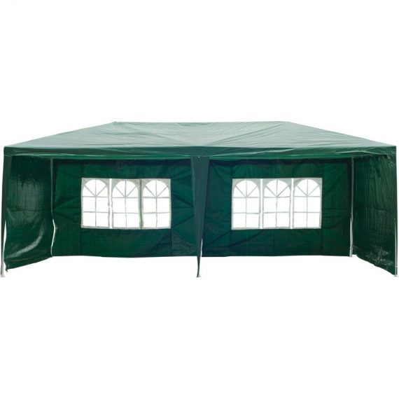 Outsunny 6x3 m Gazebo Marquee-Green 840-062GN 5055974824010