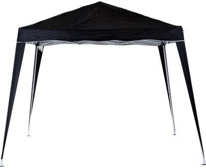 Outsunny Pop-Up Tent, 3Lx3Wx2.4H m-Black 84C-075BK 5056029889909