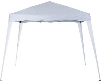 Outsunny Pop-Up Tent, 3Lx3Wx2.4H m-White 84C-075WT 5056029889923