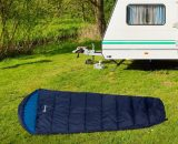 Outsunny Single Mummy Sleeping Bag Envelope Sleeping Bag 3 Season for Adults Warm Lightweight for Camping Hiking Outdoor, Blue, 210 x 75 x 5 cm A20-176 5056399147173