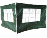 Outsunny 3x2 m Canopy Gazebo Marquee Replacement Side Panel-Green 01-0202 5060265999230