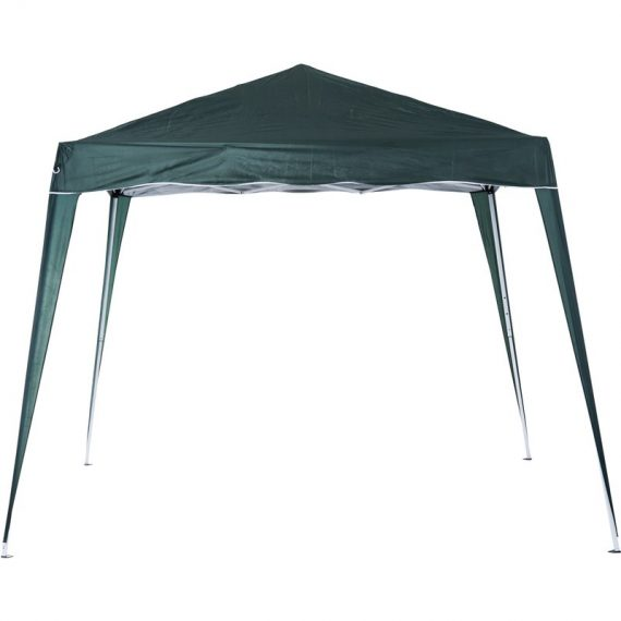 Outsunny Pop-Up Tent, 3Lx3Wx2.4H m-Green 84C-075GN 5056029849743